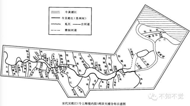宋代吴淞江(今上海境内段)两岸大浦。